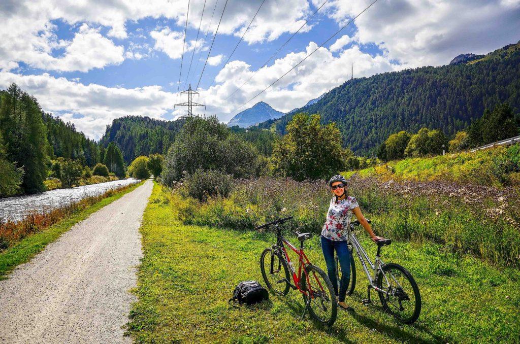 Zuzanna cycling