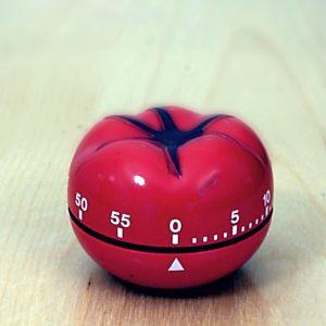 Kitchen Pomodoro timer