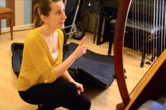 Moving a Harp