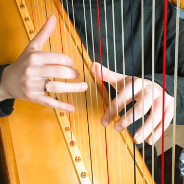 (English) Live no 12 – Avoiding blisters when playing the harp