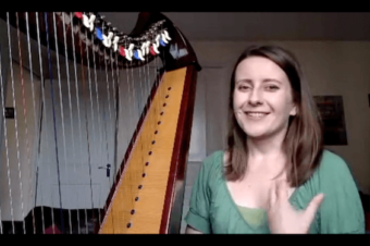 Live no 13: Dynamics on the Harp