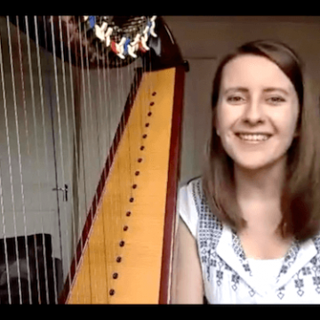 Live no 14: Harp practice with a metronome