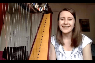 (English) Live no 14: Harp practice with a metronome