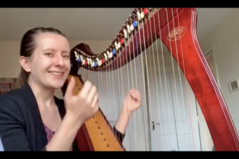 (English) Live 18: How difficult is it to play the harp?