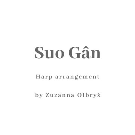 Cover: Suo Gan harp arrangement by Zuzanna Olbrys
