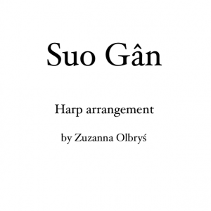 Suo Gân title and arranger information