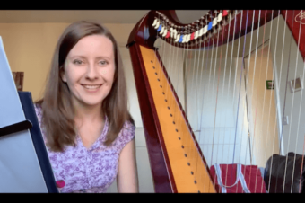 Live 19: Turns and placing on the harp