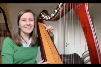 Live Harp Lesson 32: What to expect from your first harp lesson?
