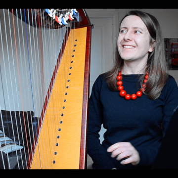 Live Harp Lesson 35 – Prelude in C Major and directional placing