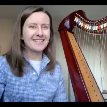 Live Harp Lesson 36: directional placing for beginners