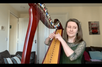 Live Harp Lesson 40 – Spotting patterns… before reading the notes