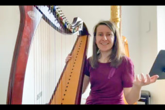 Live Harp Lesson 44 – How to break bad habits on the harp?