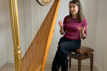 Coffee Break Harp 1 – How high should you sit at the harp?