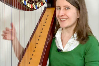 How hard is it to play the harp? – Coffee Break Harp 15