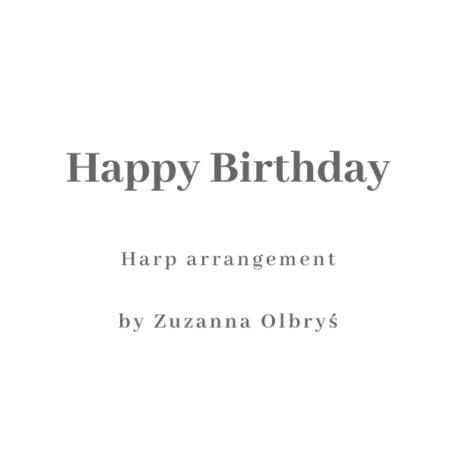 Happy Birthday for the Harp