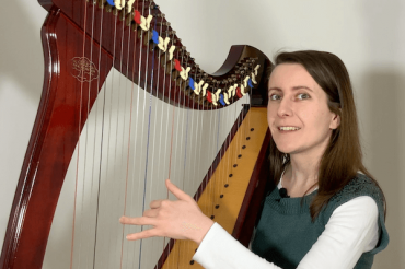 How to play rolled chords on the harp? [ep 28]