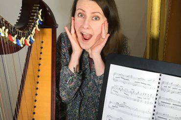 Memorising so fast you don't get to practise reading music on the harp? [ep 34]