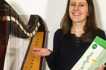 My favourite books for reading music and sight reading on the harp [ep 41]