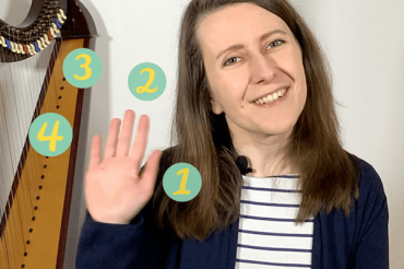 Should you change your harp fingerings… or practise and persist? [ep 38]