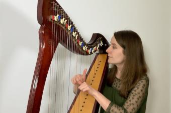 """The Ash Grove"" harp arrangement [ep 50]"
