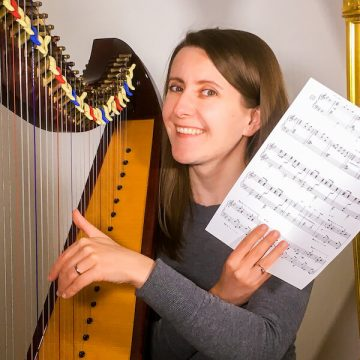 How your fingers learn to match the notes to the harp strings? [ep 56]